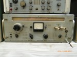Funk Sender, Empfänger mit Messgerät