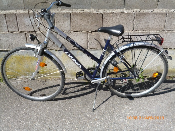 Damenfahrrad, Tracking Fahrrad